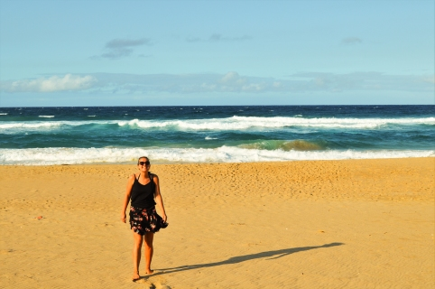 Me in Ponta d'Ouro, Mozambique!